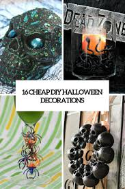 Diy Halloween Decor 16 Cheap Diy Halloween Decorations That Won U0027t Break The Bank