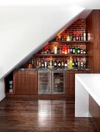 Simple Basement Bar Ideas The 25 Best Bar Under Stairs Ideas On Pinterest In Home Bar