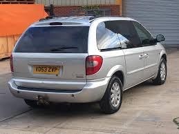 2004 chrysler grand voyager 2 5 crd fully loaded leather electric
