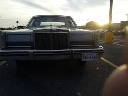 curbside classic 1983 lincoln continental mark vi u2013 missing the mark