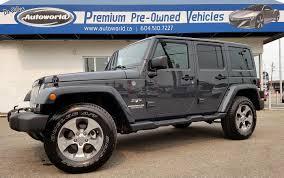 jeep wrangler unlimited sport rhino jeep wrangler unlimited sahara w nav leather remote start u2013 autoworld