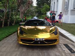 chrome ferrari 458 spider chrome 458 in singapore madwhips