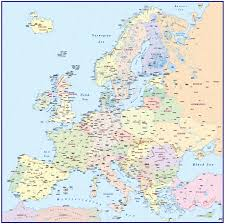 Map Of Europe And Asia by 4m Scale Europe Political Basic Map In Illustrator And Pdf Formats