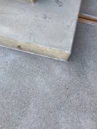 how do i get a smooth finish on kitchen cabinets new concrete patio is a different finish then other concrete