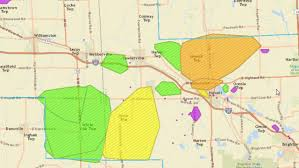 Map Of Troy Michigan by Dte Energy Outage Map Only Working On Mobile App