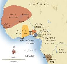 Map West Africa by West Africas Encounter With Portugal Kmjantz