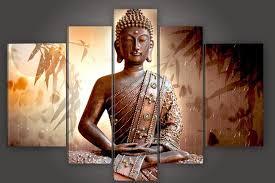 thailand home decor wholesale 100 handmade large canvas modern thailand buddha oil painting