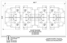 floor plans for units awesome 8 unit apartment building plans photos interior design