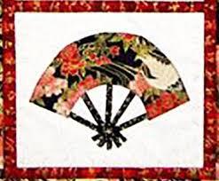 japanese fans quilt pattern castilleja cotton japanese fans shibori
