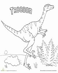 dinosaur coloring pages education