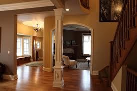 interior home columns square column built battaglia homes home plans blueprints 62961