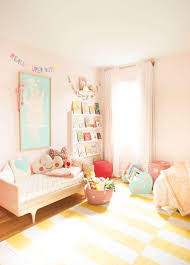 Pink Girls Bedroom Pink Shared Girls U0027 Room Lay Baby Lay