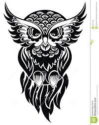 owl tattoo design illustration 42277522 megapixl
