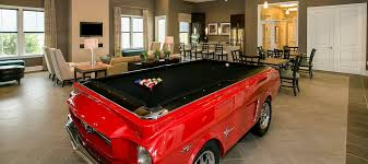 Mustang Pool Table Apartment And Community Amenities Vista Park Concord Rents