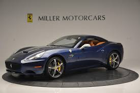 Ferrari California Black - 2013 ferrari california 30 stock 4361a for sale near greenwich