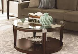 coffee table metal round coffee table gold calhounglass hammered