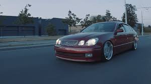 lexus tte wheels stanced and daily driven lexus gs300 youtube