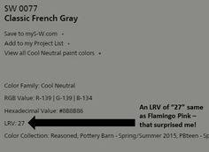 Weimaraner Paint Color Pottery Barn Tony Taupe Sherwin Williams Interior Colors Pinterest
