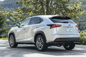 lexus nx standard features driving the 2015 lexus nx lexus enthusiast