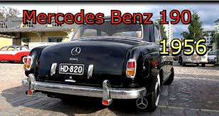 1956 mercedes benz 190 old classic car youtube