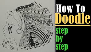 zentangle art tutorial for beginners how to draw complex doodle