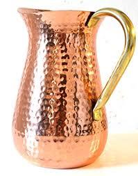 Copper Flower Vase Water Pitcher Flower Vase Gift Idea U2014 Sensible Wino Wine