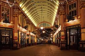 christmas lights at london u0027s delightful leadenhall market