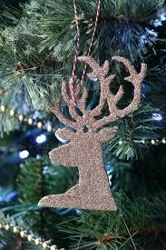 pitterandglink easy diy glitter reindeer ornaments