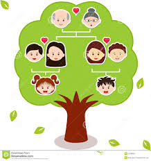 vector icons family tree stock vector illustration of diagram