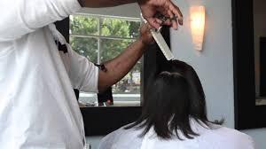 how to silk press natural hair top salon in atlanta makeover