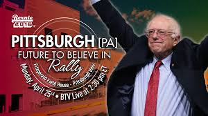 bernie sanders live from fitzgerald field house at the university