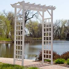wedding arches ebay gardman 6 25 ft steel arch arbor hayneedle