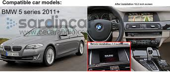 bmw 5 series navigation system bmw 5 series f10 car dvd gps navigation system multimedia radio