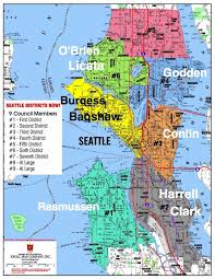seattle map by district district elections will shake up seattle city council opinion