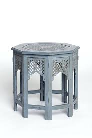 Moroccan Side Table Morrocan Side Table Side Tables Moroccan Side Table White