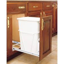 under sink trash pull out tips fresh idea to design your kitchen with trash can cabinet