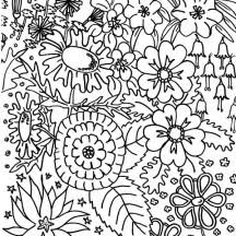 flowers netart
