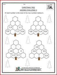 christmas math worksheets 4th grade worksheets