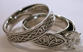 celtic wedding rings pagan wedding decorations celtic wedding rings sets marvelous
