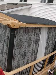 Pergola Mosquito Net by Custom Interiors Pergola