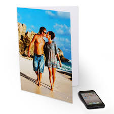 personalized greeting card large customized greetings card