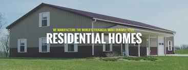 steel home floor plans farm shop with living quarters plans metal homes kits for rezibond