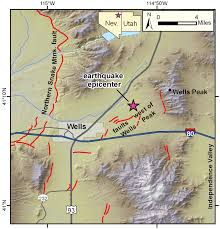 United States Radon Map by 6 0 Earthquake Wells Nv U2013 Utah Geological Survey