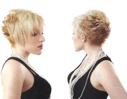backside of short haircuts pics short hairstyles back view length asymmetrical pixie haircut