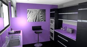 cuisine en violet peinture cuisine violet finest tonnant peinture violet vert id es