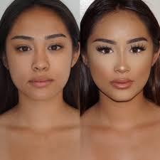 Makeup Contour feature 4 nose corrective makeup corrective makeup
