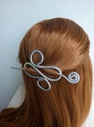 bun pins silver hair stick pin fork bun pin metal hair pins