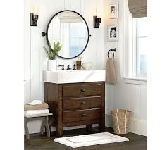 Bathroom Awesome Potterybarn Bathroom Vanity Crafted From