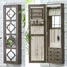 jewelry armoire full length mirror furniture white jewelry armoire mirror beautiful belham living
