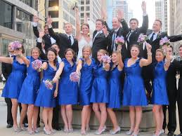 wedding blue bridesmaid dresses dress images